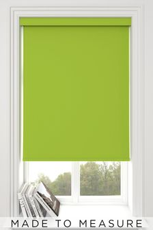 Haig Zest Green Made To Measure Blackout Roller Blind