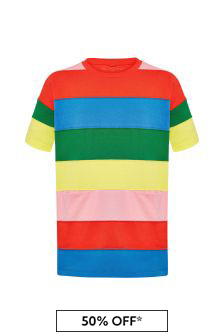 Girls Multicoloured Cotton Dress