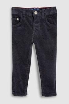 Pantaloni reiați elastici (3 luni - 6 ani)
