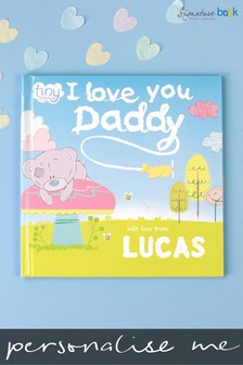Personalised Tiny Tatty Teddy I Love You Daddy Book by Signature Book Publishing