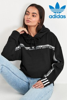 adidas Originals Black RYV Overhead Oversized Hoody