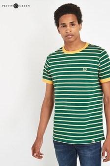 Pretty Green Martell Striped T-Shirt