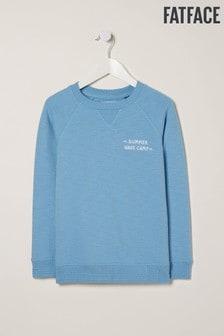 FatFace Blue Surf The Sunshine Crew Sweater