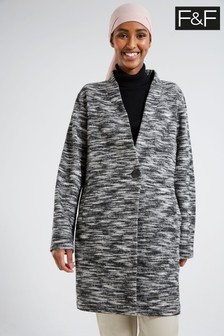 F&F Grey Coat