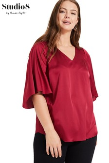 Studio 8 Red Milly Top