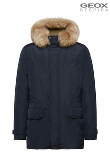 Geox Men's Norwolk Blue Parka