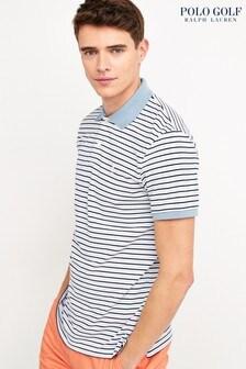Polo Ralph Lauren® Golf Blue Stripe Poloshirt