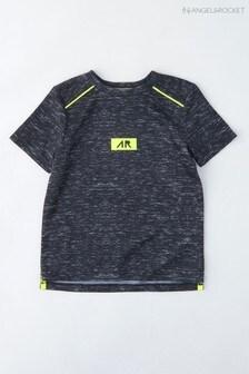 Angel & Rocket Black Tipped Marl T-Shirt