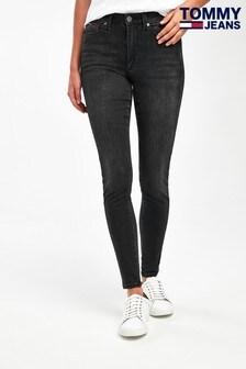 Tommy Jeans Black High Rise Super Skinny TJ 2008 Jeans