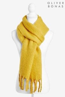 Oliver Bonas Super Soft Chunky Yellow Scarf