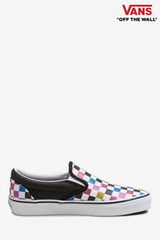 Vans Multi Check Slip-On Trainers