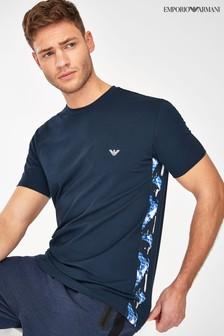 חולצת טי בדוגמת הסוואה של Emporio Armani