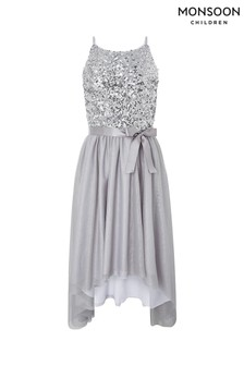 Monsoon Children Silver Truth Spot Dress