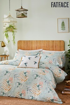 FatFace Paradise Parrot Duvet Cover and Pillowcase Set