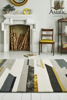 Matrix Geo Wool Rich Rug by Asiatic Rugs