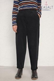 Seasalt Black Porfell Trousers