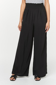 Shirred Waist Trousers