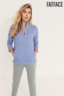 FatFace Blue Airlie Spot Sweat Top