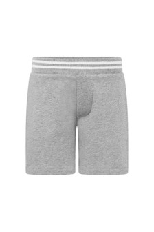 Baby Boys Grey Cotton Shorts