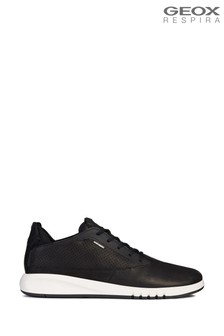 Geox Man's Aerantis Black Shoes