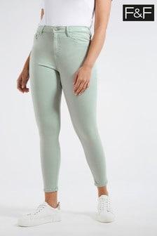 F&F Mint Super Soft Jeans