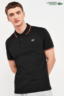Lacoste® Sport Tipped Collar Poloshirt