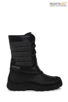 Regatta Black Okemo Snow Boots