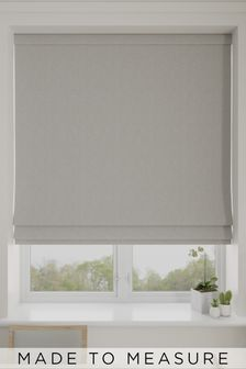 Bouclé Natural Made To Measure Roman Blind