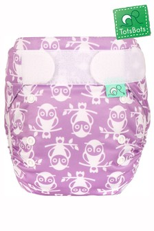 TotsBots EasyFit Hedgehug All-in-One Reusable Nappy Squiddles