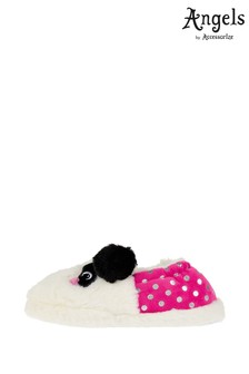 Angels by Accessorize Black Pippa Panda Slippers