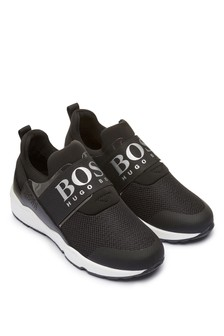 Boys Black Trainers