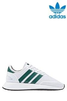 adidas Originals White/Green N-5923 Youth