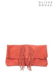 Oliver Bonas Veda Tassel Clutch Bag