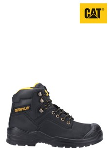 CAT Black Striver Mid Safety Boots
