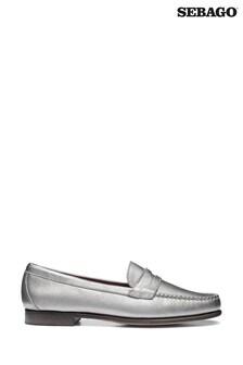 Sebago Silver Audrey Shoes