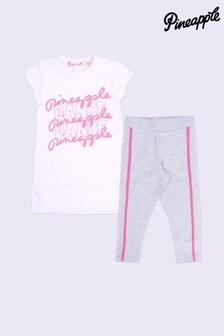 Pineapple Logo T-Shirt Set