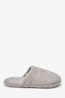 Borg Snuggle Mule Slippers