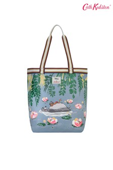 Cath Kidston® Blue Jungle Book Waterlily Canvas Tote