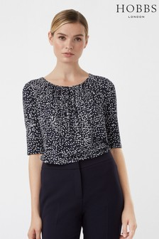 Hobbs Blue Viola Top