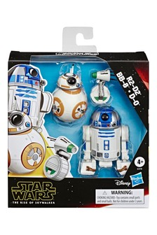 Star Wars™: Galaxy of Adventures R2-D2, BB-8, D-O Action Figures Three Pack