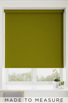 Haig Asparagus Green Made To Measure Blackout Roller Blind