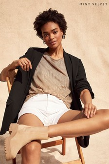 Mint Velvet Black Shawl Collar Blazer