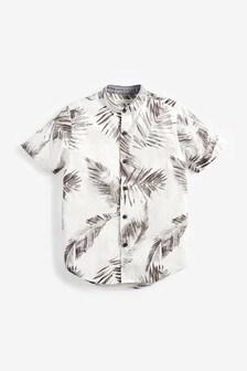 Print Short Sleeve Shirt (3-16yrs)