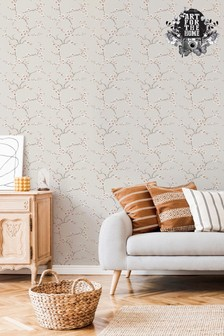 Fresco Apple Blossom Wallpaper by Art For The Home