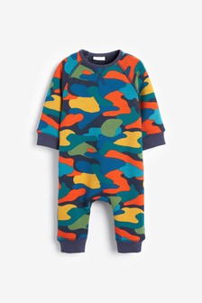 Cosy Camouflage Romper (0mths-2yrs)