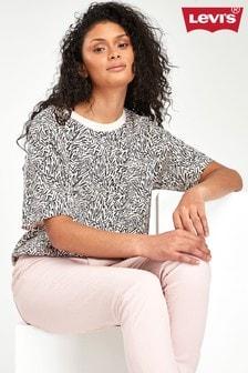 Levi's® Pink Zebra Print T-Shirt