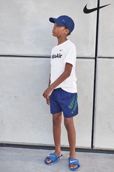 "Nike Logo 4"" Volley Swim Shorts"