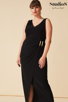 Studio 8 Black Calypso Maxi Dress