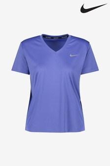 Nike Miler Run V-Neck T-Shirt