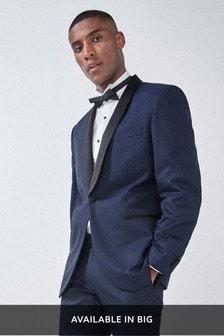 Textured Tuxedo Suit: Jacket